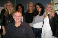 New Girl Band PHACEBOOK with me at kmfm Early Feb 2010