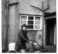 My first bike! A moped. this taken in 1976