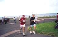 On the home run in. Thanet 5K 2007