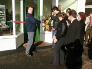 opening of a new shop Christmas 2008 Nr Dover