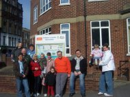 Walk To Win with the Six Bells Centre Margate