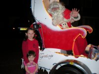 Johnny as Santa out with Ramsgate Rotary