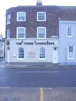 The Three Compasses on Deal Sea front
