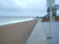 Along the sea front at Deal