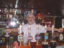 Tony the Landlord of the Hare and Hounds